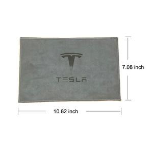 Image 3 - Uds Tesla modelo 3 X S X Y toalla para limpieza de coche fuerte capacidad de absorción de agua paño de limpieza