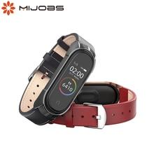 Mi Band 5 Genuine Leather Bracelet NFC Global Version For Xiaomi Mi Band 4 Strap Mi Band 3 Strap TF Smart Accessories Watchband