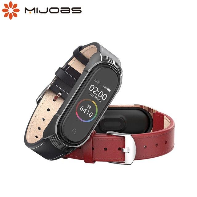 Mi Band 5 браслет из натуральной кожи NFC глобальная версия для Xiaomi Mi Band 4 ремешок Mi Band 3 ремешок TF умные аксессуары ремешок для часов