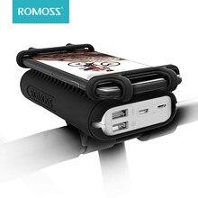ROMOSS UR01 Power Bank 10000 мАч для велосипеда 2 в 1 портативный внешний аккумулятор с велосипед держатель телефона для iPhone Xiaomi