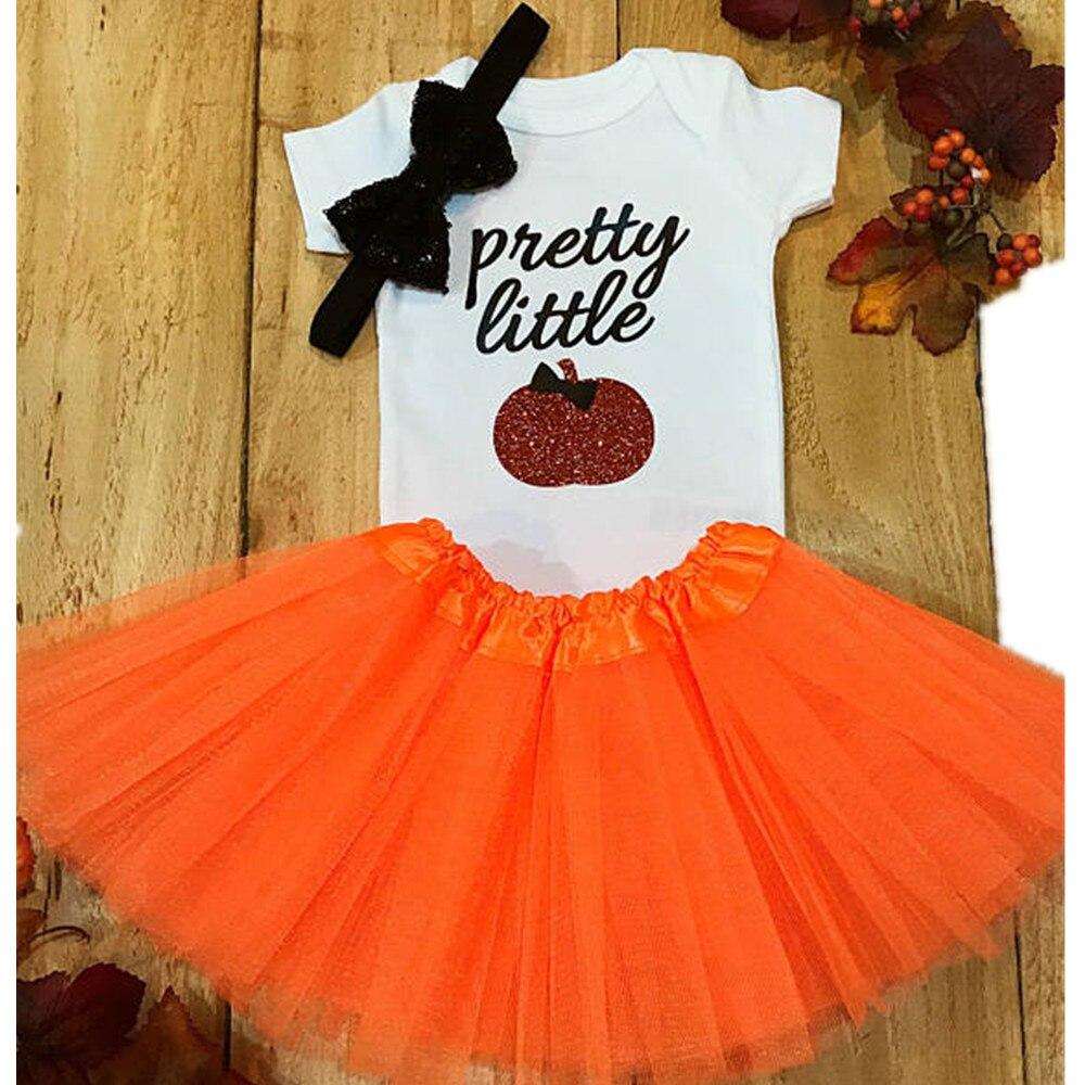 Custom Party Shop Unisex Baby LOVE Fall Pumpkin Onepiece