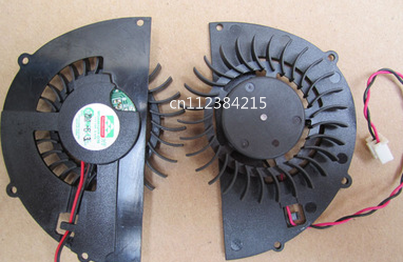 Free Shipping Original  MGA6012YF-O15 12V 0.37A Hole Distance 42*39*77*31mm 2 Wire Graphics Fan