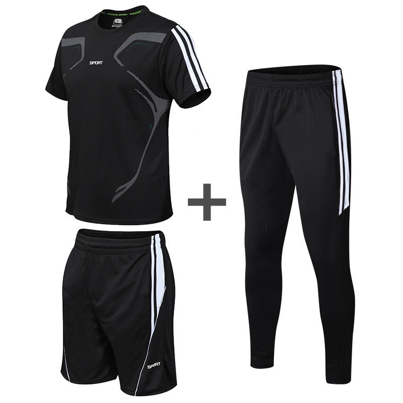 2pcs Mens Basketball Shorts Compression Shirt Gym Clothing Sportswear Dry Fit Athletic Workout Shirt Fitness Tracksuits
