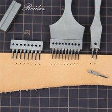 RCIDOS взаимозаменяемы часы ремень дырокол, шестигранные/оливковые строчки Дырокол инструменты, комбинированный тип ручной стежка Дырокол
