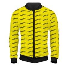 YFFUSHI 2019 New Autum Men Jacket  Fashion High Quality Size Zipper Mens Outwears Hip Hop Hoodies Dropshipping