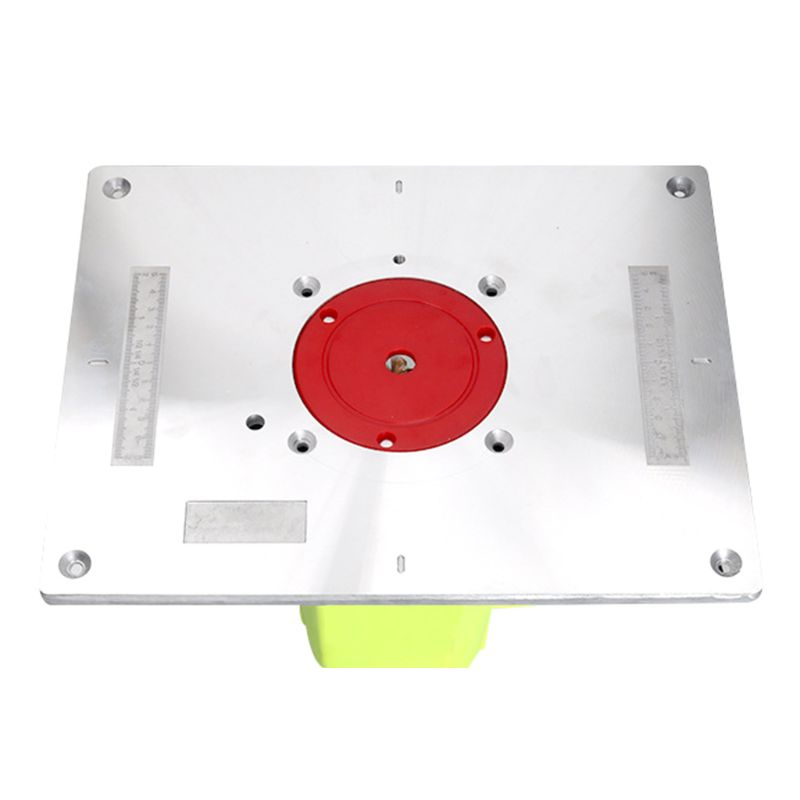 Aluminium Router Table Insert Plate Woodworking Benches Wood Router Trimmer Mode