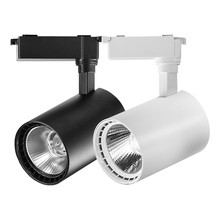 рейл для света track light set 35W industrial led spot light 220v spotlight tracking rail lighting