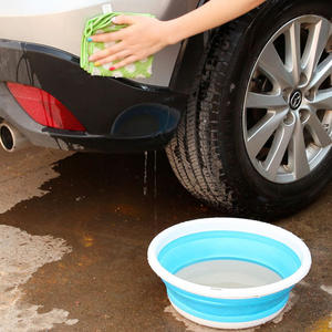 Portable Basin Bucket Folding Fishing-Wash Camping 20 Car-Washing-Tool Fruit Simple-Life