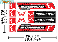 Bloodocchi Bomber Adesivi per decalcomanie Heavy Duty decalcomanie in vinile 10 set adesivo per auto JDM A4 Q3 decorazione auto