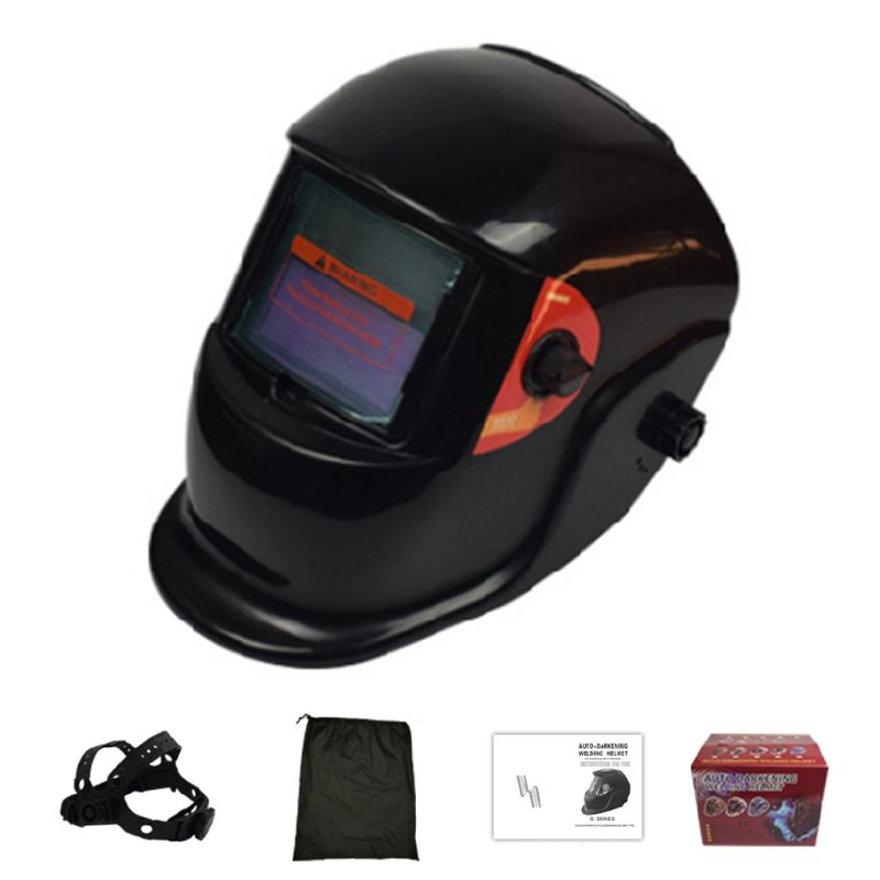 Welding Helmet Automatically Adjust Solar Energy Light Argon Arc Mask Auto Dim