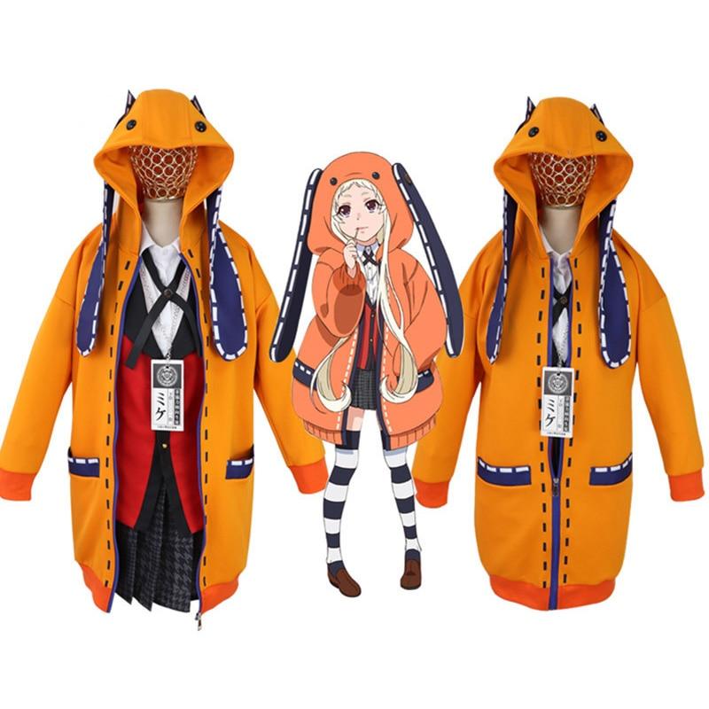 hibasing Anime Kakegurui Sportswear Set Damen//M/ädchen Kakegurui Yomoduki Runa Kurzes T-Shirt /& Shorts Cosplay Zweiteiliges Set