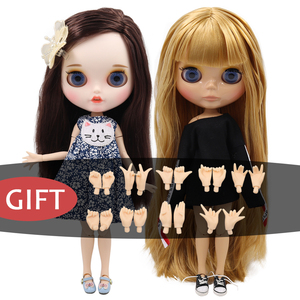ICY factory blyth doll bjd TOY naked doll joint body 30cm hands AB as gift DIY CUSTOM