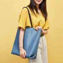 Luxury Ladies Handbags Women Bucket Bags Designer Big Girls Woman Tote Bag Black Genuine Leather Cute Female Shoulder Bags 2019 недорго, оригинальная цена