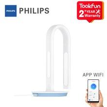 Xiaomi Mijia Đèn Bàn Philips 2S LED Thông Minh Đọc Để Bàn Uốn Nghiên Cứu Văn Phòng Để Bàn Đầu Giường Đèn Ngủ wifi App MiHome