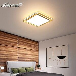 Image 1 - Lámpara de techo moderna para comedor y dormitorio, color negro, blanco y dorado, de alta calidad
