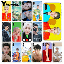 Yinuoda SEHUN CHANYEOL EXO Transparent Weiche Shell Telefon Abdeckung für iPhone X XS MAX 6 6S 7 7plus 8 8Plus 5 5S XR(China)