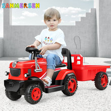 Children Electric Off-road Car Automobile Charging 4 Wheels Motorcar Ride On Cars For Kids Electric Tractor Boy Birthday Present