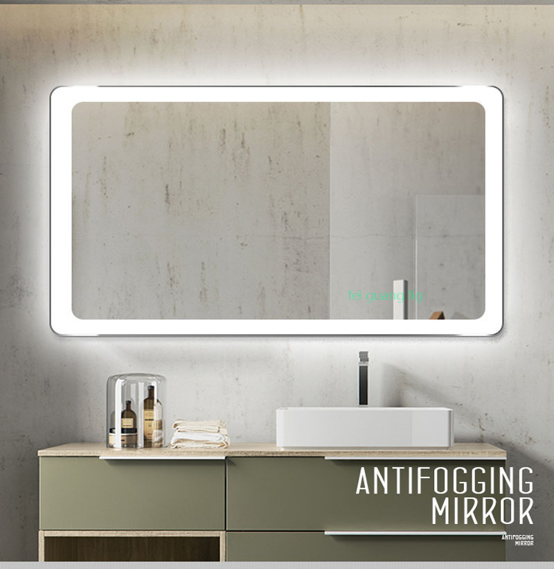 Bathroom Mirror LED wall lamp wash toilet wash bathroom wall lamp bathroom mirror hanging LED lights clothing store mirror light