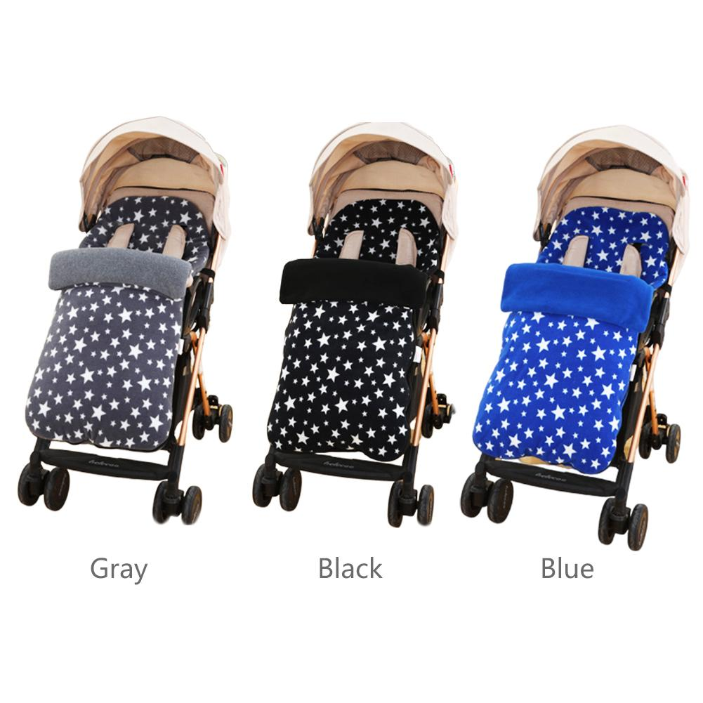 35 X 16inch Baby Carriage Sleeping Bag Troller Baby Carriage Sack Pram Footmuff Warm Winter Changing Diaper For Newborn Baby