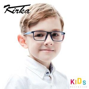 Image 2 - Kirka Kinderen Brillen Tr 90 Kids Optische Brilmontuur Flexibele Brilmonturen Voor Kids Brilmonturen TR90 Unisex Solid