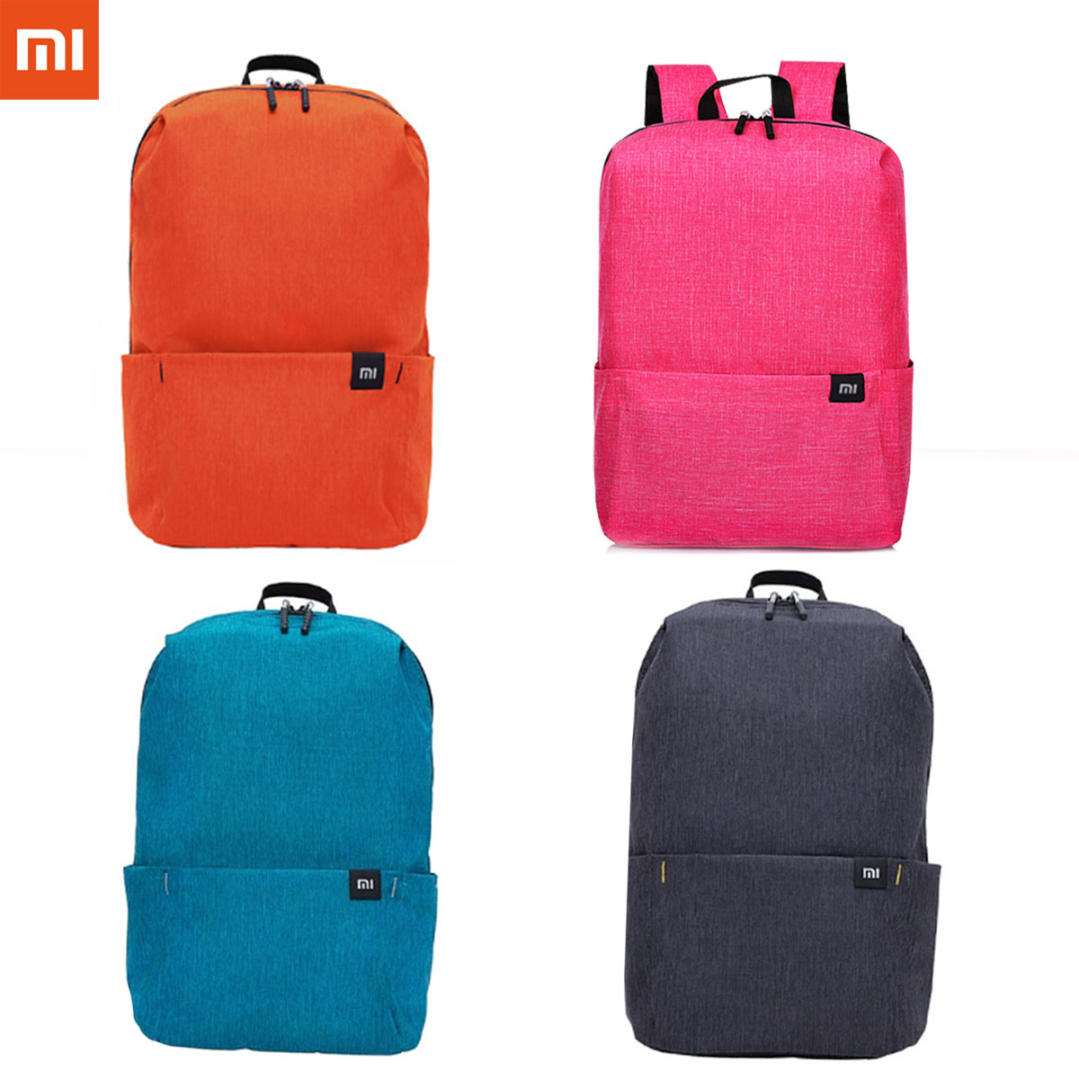 XIAOMI Colorful Mini Backpack Women Backpack Men 10L Bags Bag For Boy Girl Daypack Water Resistant Lightweight Portable Casual