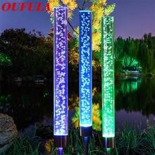Oufula Солнечная газонная лампа пузырьковая наружная Водонепроницаемая
