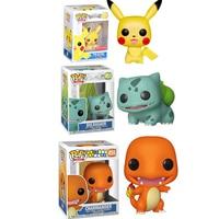 FUNKO POP Anime Pokemones pikachues Charmander Bulbasaur Vinyl Action Figures Collection Toys for Children Christmas gift