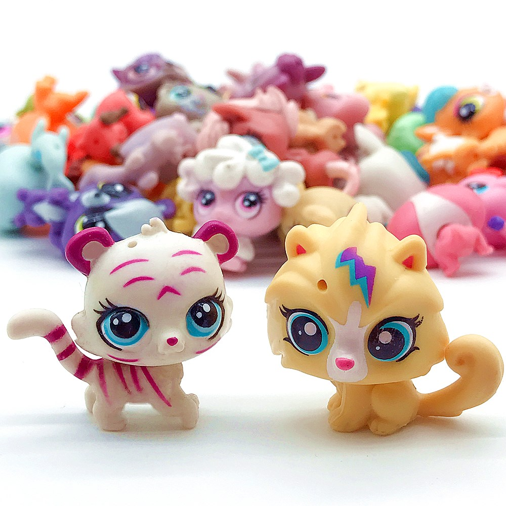 LPS Pet Shop Collection Figures Collie Dog Cat Dolls Pets Kitty Toy Anime Kids  Gifts Toys For Children