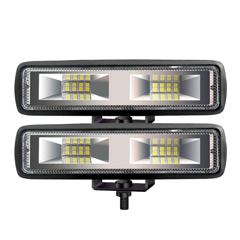 New Hot Work Lights 18W 12V 16LED Work Lights I-shaped Off-road Driving Fog Lights New Headlights Car Lights Signal Light