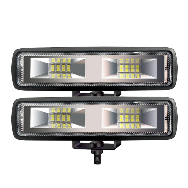 New Hot Work Lights 18W 12V 16LED Work Lights I-shaped Off-road Driving Fog Lights New Headlights Car Lights Signal Light