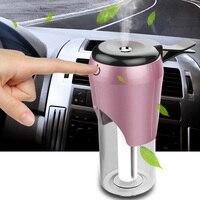Auto odświeżacz powietrza nawilżacz samochodowy 2 USB OLEJEK ETERYCZNY dyfuzor dyfuzor i papierosów zapalniczki podwójny ładowarka do telefonu na USB w Samochodowe nawilżacze powietrza od Samochody i motocykle na
