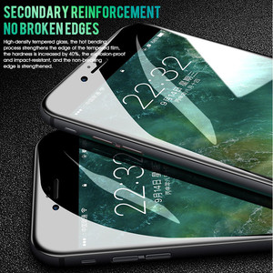 Image 3 - Bảo vệ kính Cho Iphone 11 7 6 6S 8 5S Plus Full dành cho iPhone 11 X XR MAX tấm Kính bảo vệ Màn Hình trên iPhone 11 Pro MAX