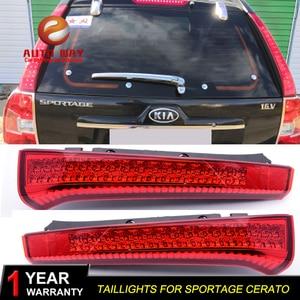 Image 1 - רכב סטיילינג זנב אורות LED בלם אורות אזהרת אורות מקרה עבור KIA Sportage cerato sportageR Ceed 2007 2014 פנסים אחוריים