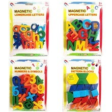 26pcs Magnetic Learning Alphabet Letters Plastic Refrigerator Stickers Toddlers Kids Learning Spelling Counting Educational Toys