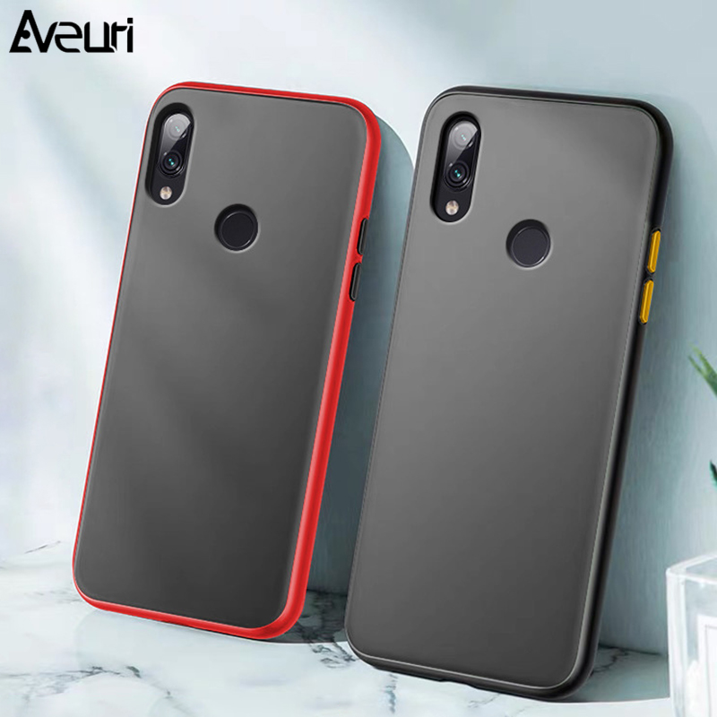 Luxury Matte Phone <font><b>Case</b></font> For Huawei Y6S Y9S Y5 Y6 Y7 Y9 Prime 2019 <font><b>Honor</b></font> 7A <font><b>7S</b></font> 8S Play3 View 30 Pro Mate 20 Pro Cover <font><b>Case</b></font> Coque image