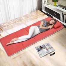 Прямая от производителя, хлопковая подушка для одной кровати, замшевый Универсальный матрас для улицы, толстый матрас для кемпинга