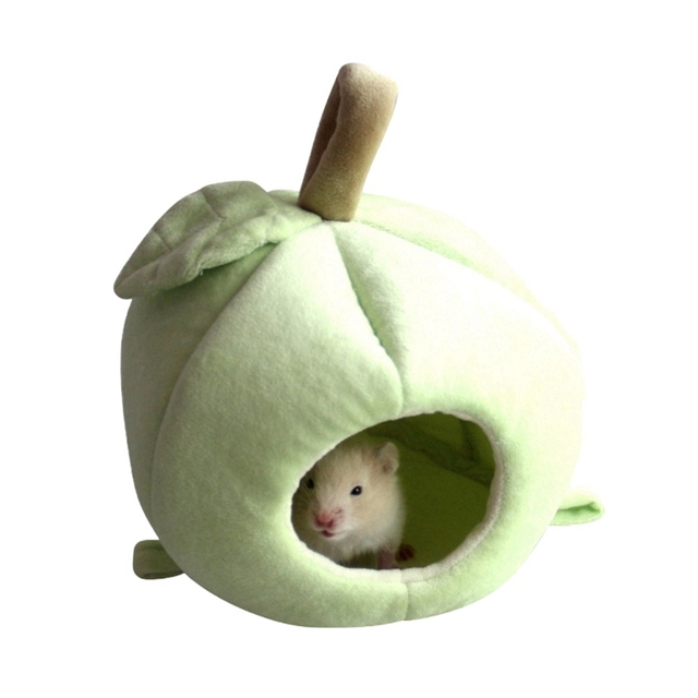Small Pet Warm Nest Fleece Sleeping Bag For Hamster, Rabbit, Rat Cute Habitat Cave 2