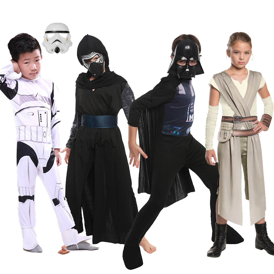 Clone Troopers Force Awakens Kylo Ren Costume Kids Costumes Stormtrooper Darth Vader Fancy Dress Children Halloween For Boys