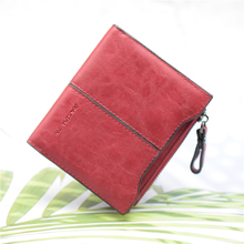 Women Wallet PU Leather Black/green/brown/blue/red Female Purse Short Vintage Ladies Wallet Card Case