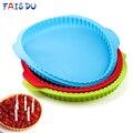 10 дюймов для пиццы с круглым волнистым краем силиконовые противни для выпечки ручной работы Печенье Хлеб буханка для пиццы пирог поднос для...