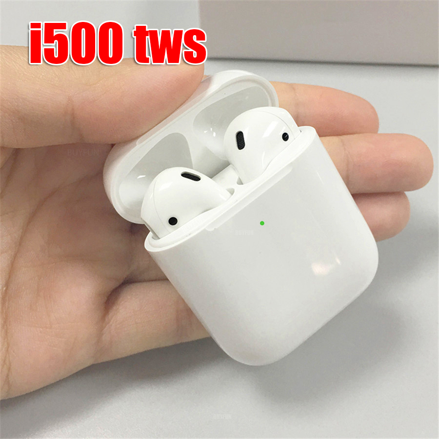I500 TWS auriculares Bluetooth auriculares de carga inalámbrica i500 TWS Control táctil auriculares TWS i500 1:1 tapa abierta Pop Up capacidad Real