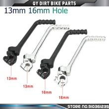 13mm 16mm Hole Kick Start Lever Start Pedal For 50cc 70cc 90cc 110cc 125cc 140cc 150cc 160cc KAYO SSR SDG BSE Dirt Pit Bike