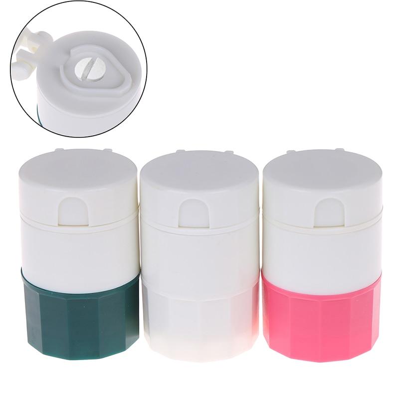 4 в 1 портативный 4-слойный измельчитель таблеток порошок резак для таблеток разделитель для лекарств коробка для хранения дробилки 1 шт
