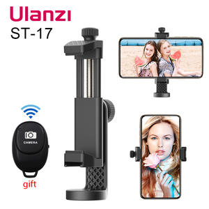 Ulanzi ST-17 Universal Smartphone Tripod Mount Vertical Shooting 360 Rotation Phone Mount Holder for iPhone Android