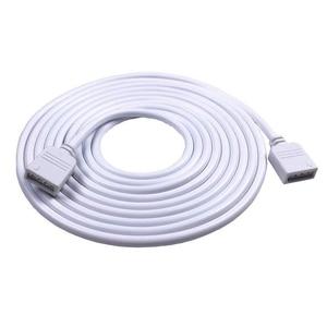 4Pin Verlängerung Draht Kabel Stecker RGB 5050 3528 LED Streifen Licht connecotr mit Nadel für RGB LED Streifen Licht 1m 2m 5m