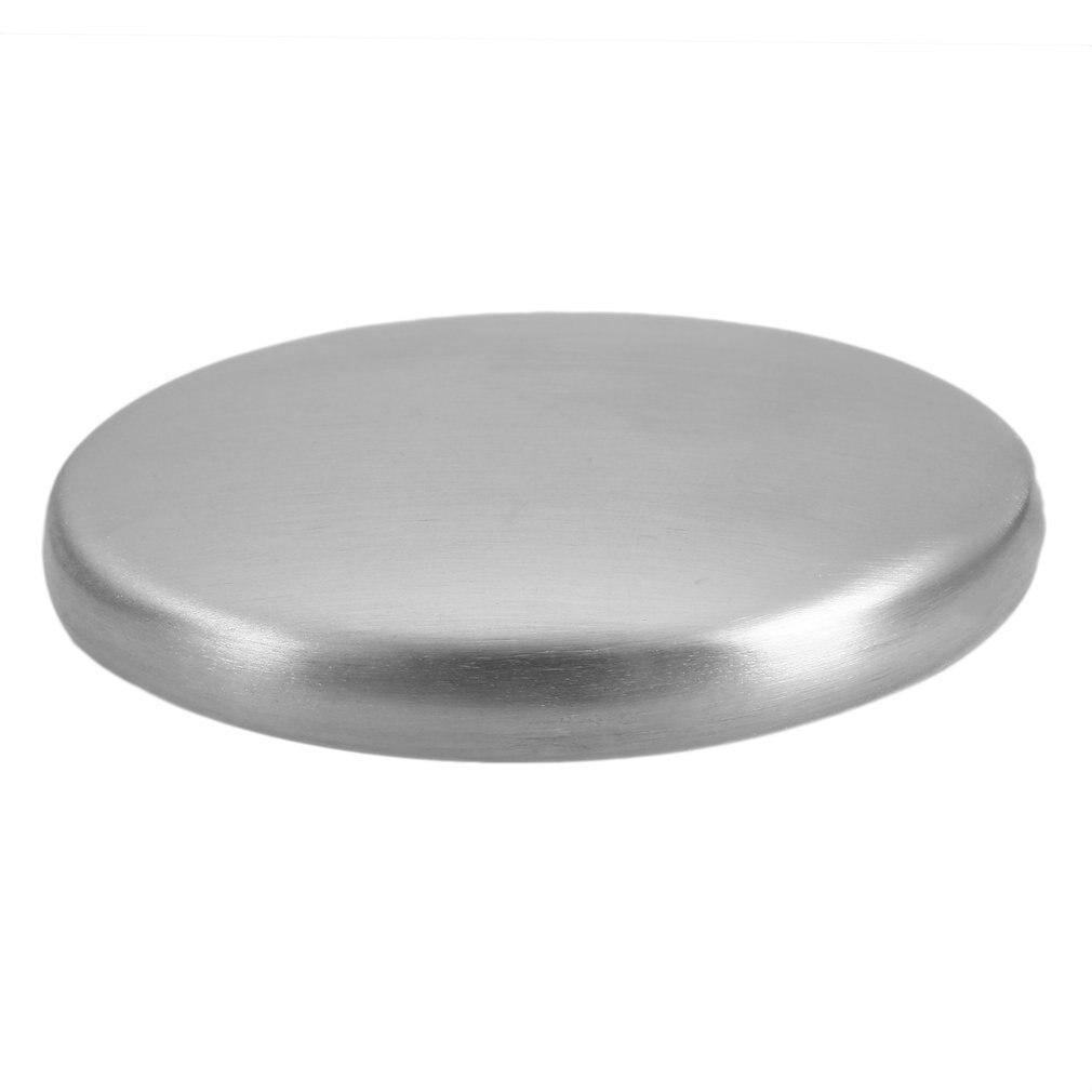 Jabón de acero inoxidable práctico desodoriza el olor de ajo cebolla de manos jabón mágico elimina Odo jabón de baño herramienta de cocina