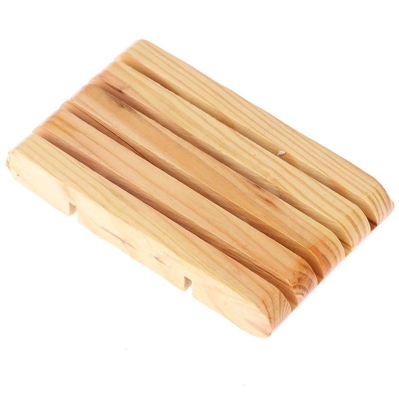 Portable Soap Dishes Creative Bamboo Manual Drain Soap Box Bathroom Bathroom Japanese Style Soap Soap Box