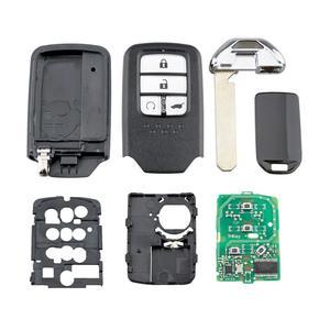Image 5 - QWMEND KR5V2X 4 Tasten Smart Auto Schlüssel für Honda CRV/URV 2017 2020 ID47Chip Auto Fernbedienung Schlüssel 433mhz