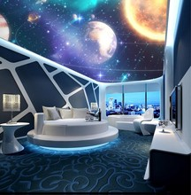 Custom any size photo ceilings  sky ceiling mural 3d murals wallpaper