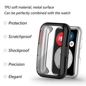 Image 5 - Screen Protector สำหรับ Huawei นาฬิกา Fit TIA B09 Ultra Slim Soft TPU Smartwatch สำหรับ Huawei กันชน Shell